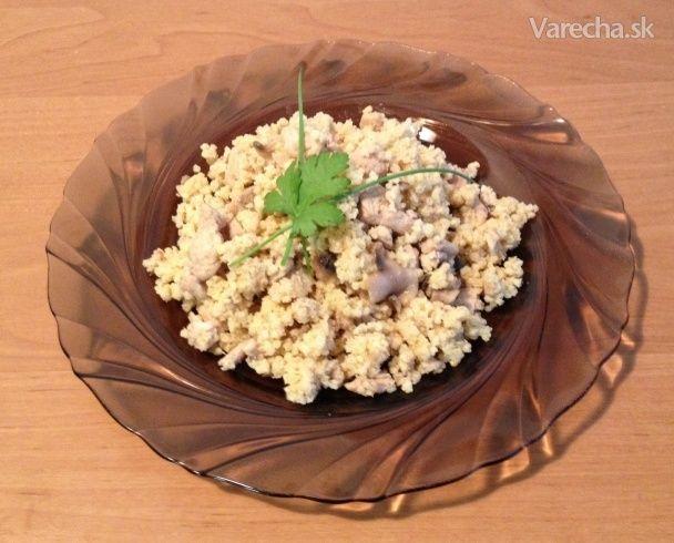 Lahodné pšenové rizoto - Recept