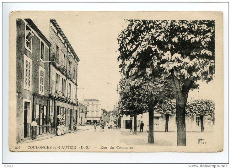 Coulonges Sur L'Autize Rue Du Commerce - Coulonges-sur-l'Autize