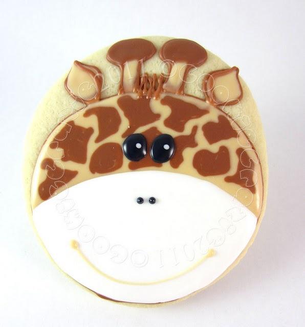 I must make these - anybody need giraffe cookies??  ANYBODY ;)