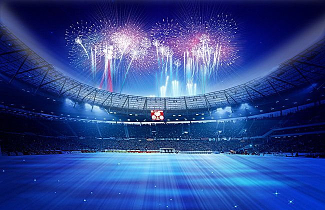 Blue Stadium Posters Imagens De Fundo Promocao Dia Dos Namorados Fogos De Artificio