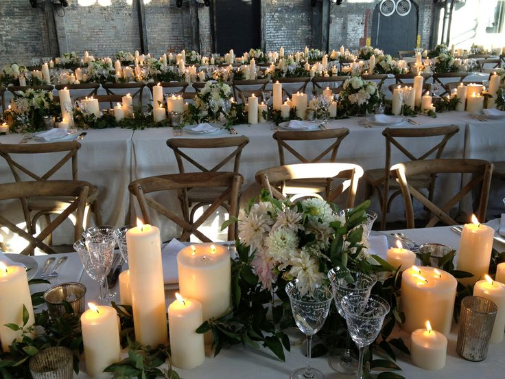 Best Centerpieces Images On Pinterest Decoration Wedding - Beautiful flowers candles centerpieces romanticize table decoratio