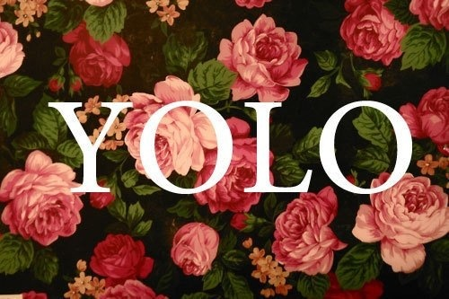 you only love once!!