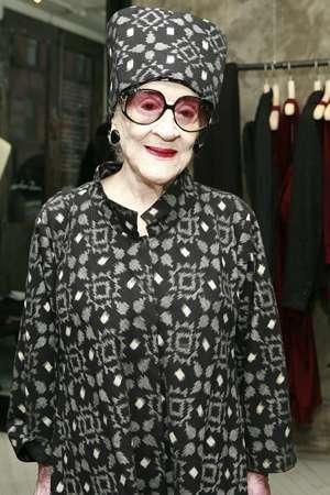 95-year-old fashion maven Zelda Kaplan dies at Fashion Week show    Read more: www.nypost.com/...    Zelda is known as the matriarch of New York's nightlife scene. Often spotted in African-print dresses and giant circular sunglasses, she is famous for staying out all night and partying with the city's most energetic club kids.