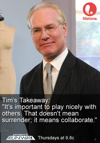 Tim Gunn's Takeaway Ep. 5 #ProjectRunway #MakeItWork