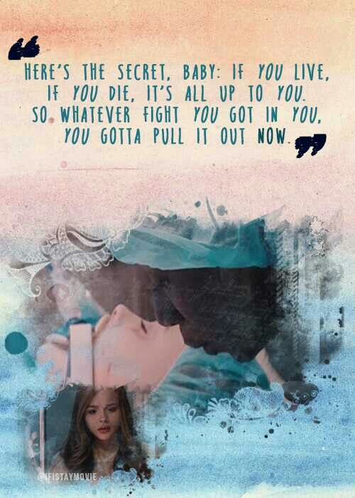 """It's all up to you"" - If I Stay"