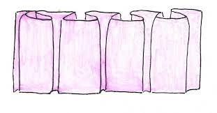 Resultado de imagen para como hacer una falda de tablones encontrados