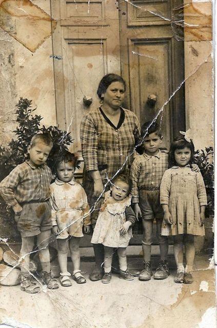 Nonna e figli