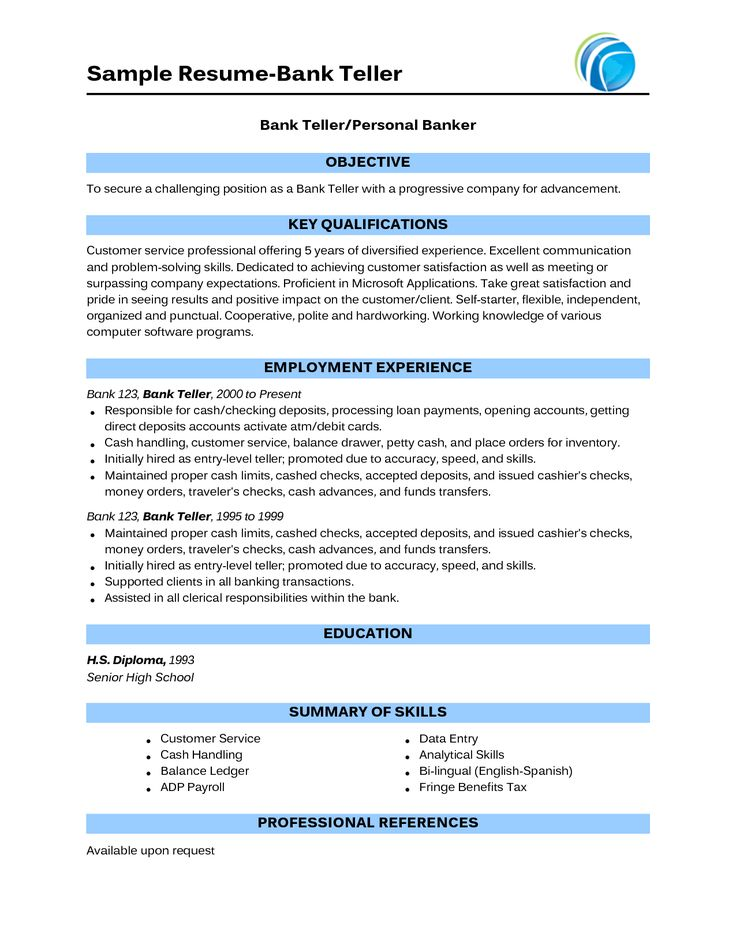 The 25+ best Sample resume ideas on Pinterest Sample resume - sample of resume format for job