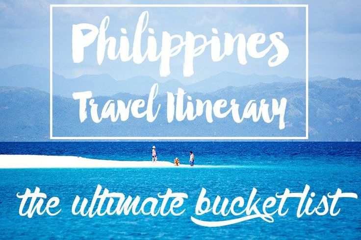 We take a look at the best Philippines travel itinerary in this collaboration from some of the best travel bloggers all over the world. What's on your list?