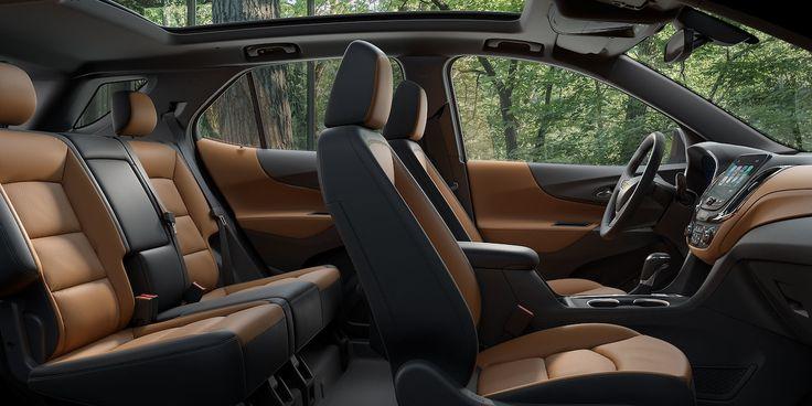2018 Equinox Fuel Efficient SUV Design: interior