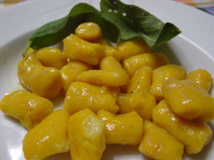 Gnocchi di Zucca (Pumpkin)