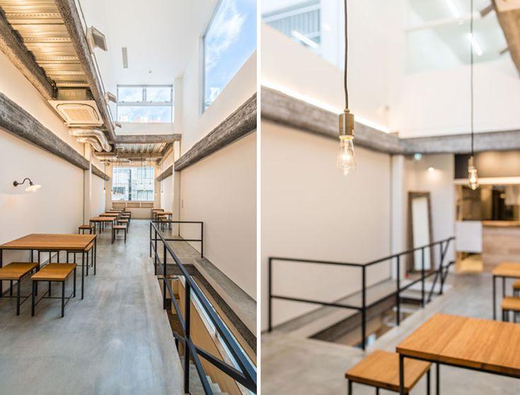 fuminori maemi architect office renovates cafe634 in tokyo