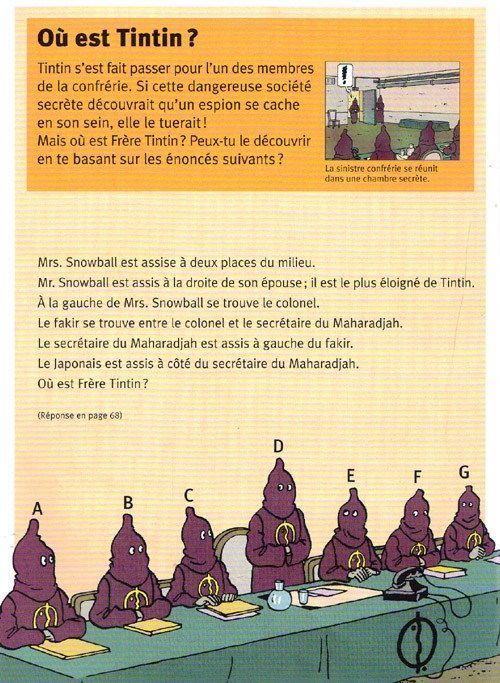 Tintin - Divers -AJ2- Album-jeux 2