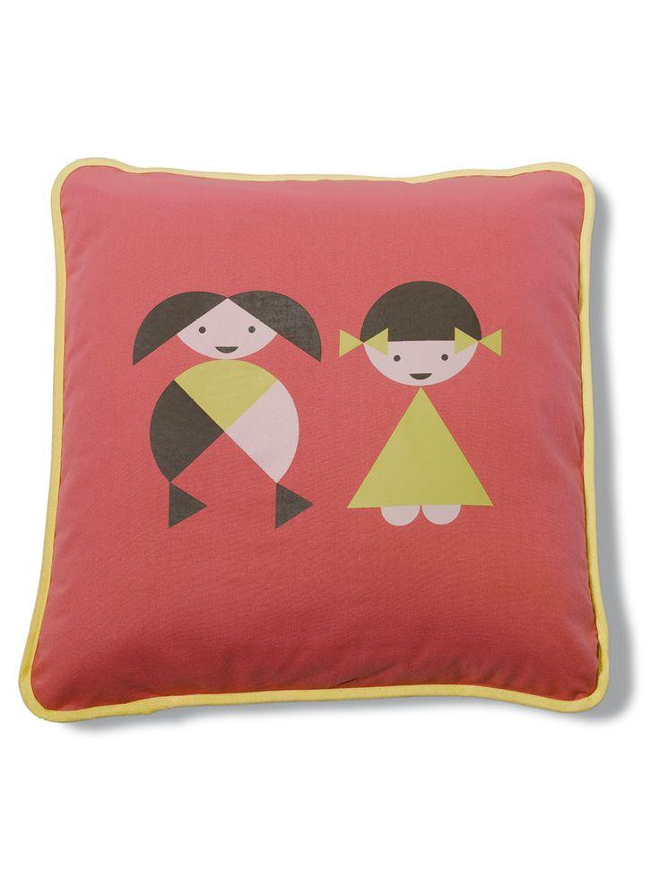 Frida Rosa / cushion / lavmi