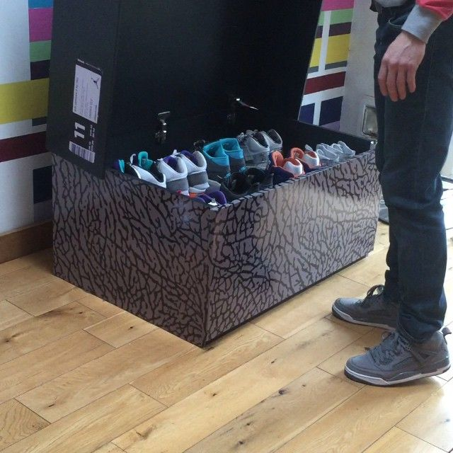 Jordan Shoe Box Storage