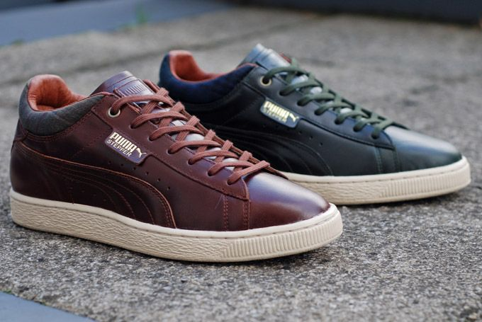 PUMA & British Millerain Stepper Luxe ... It's curious that sports footwear reached a point where premium ...