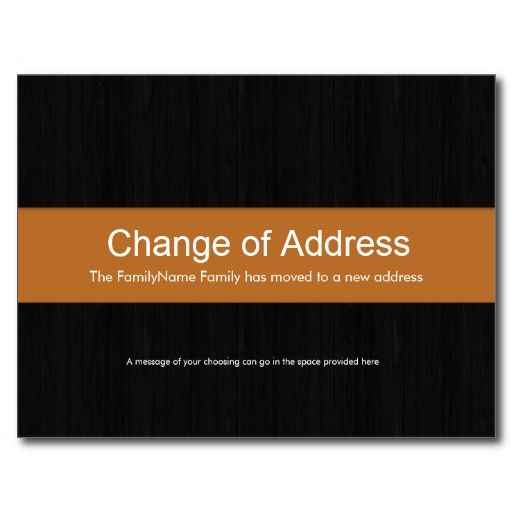 how to change address with the lott
