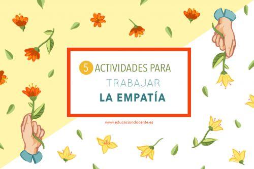 5 actividades para trabajar la empatía