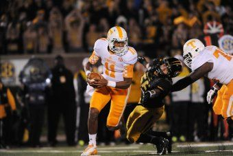 Tennessee Football: Vols' 2014 Offense Hinges on Tiny Richardson's NFL Decision | Bleacher Report