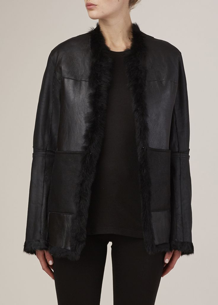 Reversible jacket by Ann Demeulemeester.