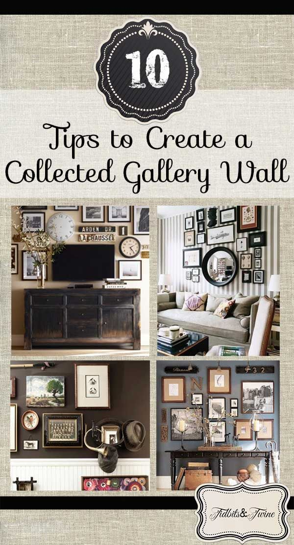 10 Tips for Creating a Collected Gallery Wall