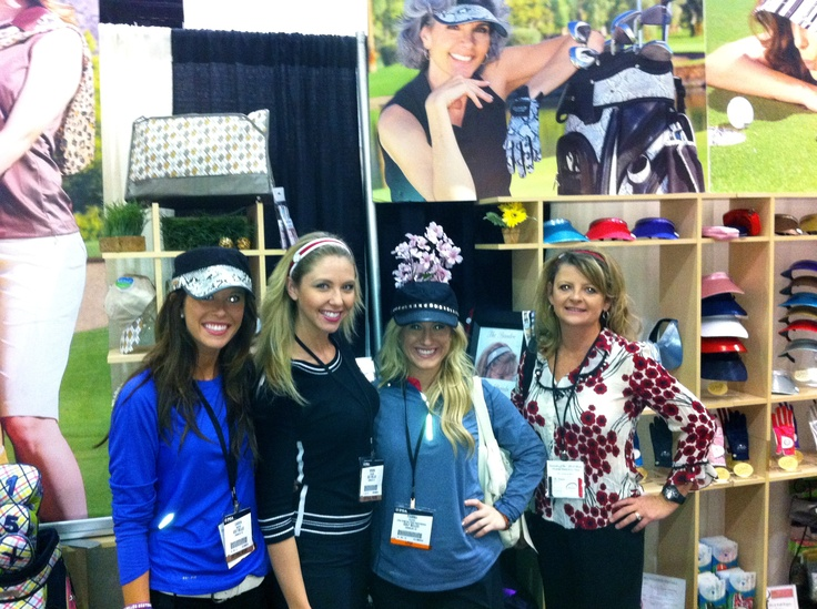 Golf Belles, Dede from The Bandee and the Fab Glove It Booth