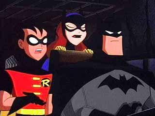 "Batman, Robin, and Batgirl - ""Batman: The Animated Series"""