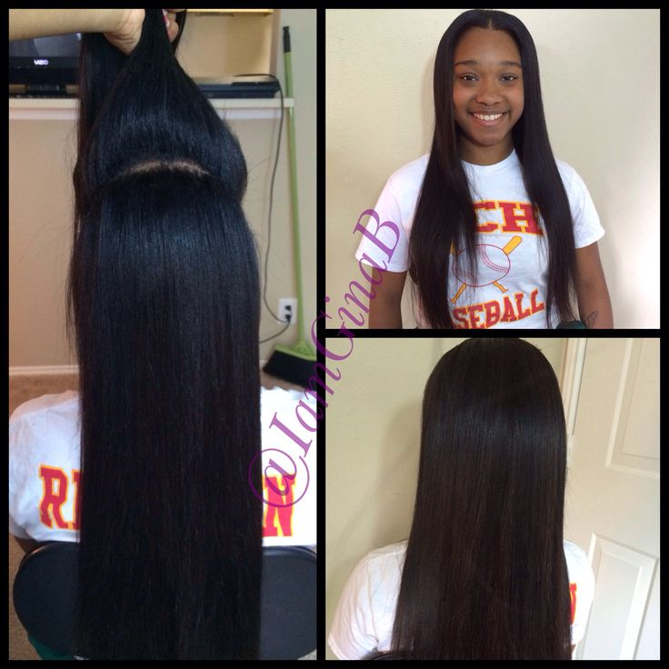 27 best hair sew in weave and braids images on pinterest sew versitile sew in two way sew in middle part half up half down pmusecretfo Choice Image