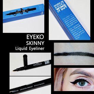 MichelaIsMyName: EYEKO SKINNY Liquid Eyeliner REVIEW