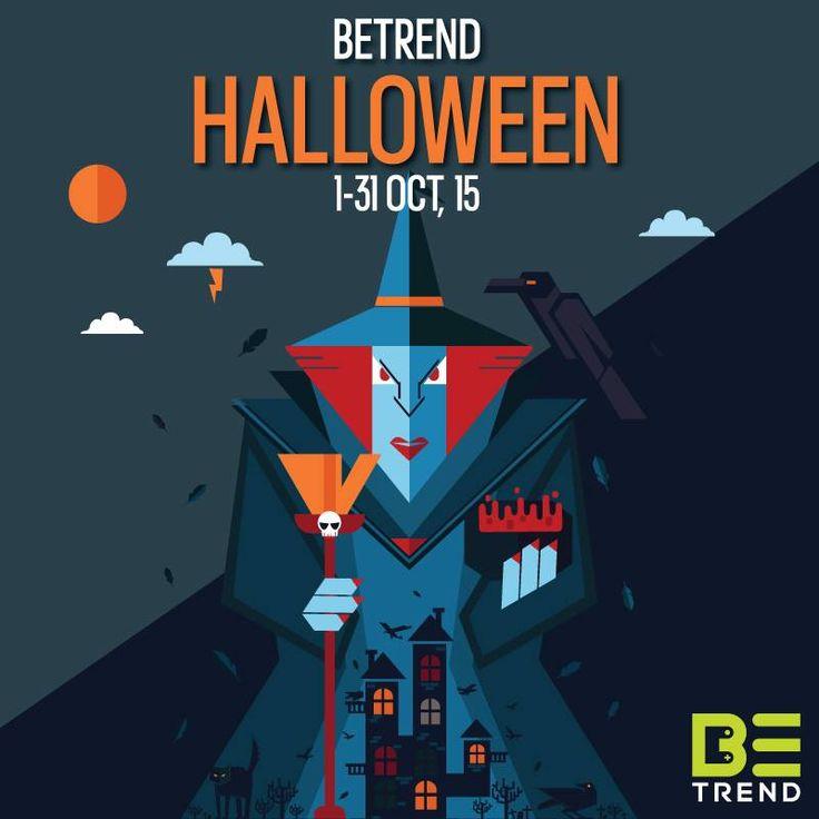 BeTrend Halloween 2015 #poster