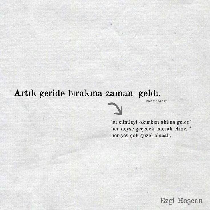 Geride bırakma zamanı. #edebiyat #hayat #siirsokakta #kitap #ezgihoscan