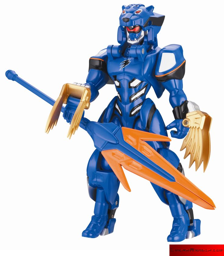 Power rangers jungle fury armored blue ranger figure - Power rangers megaforce jungle fury ...