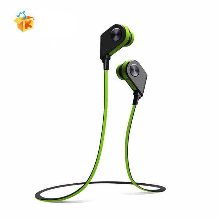 Genuine Kuwo K1 Bluetooth 4.1 Headset Wireless Headphones Sports Stereo Earphone Magnet Switch Bass Headphone for iPhone/Samsung