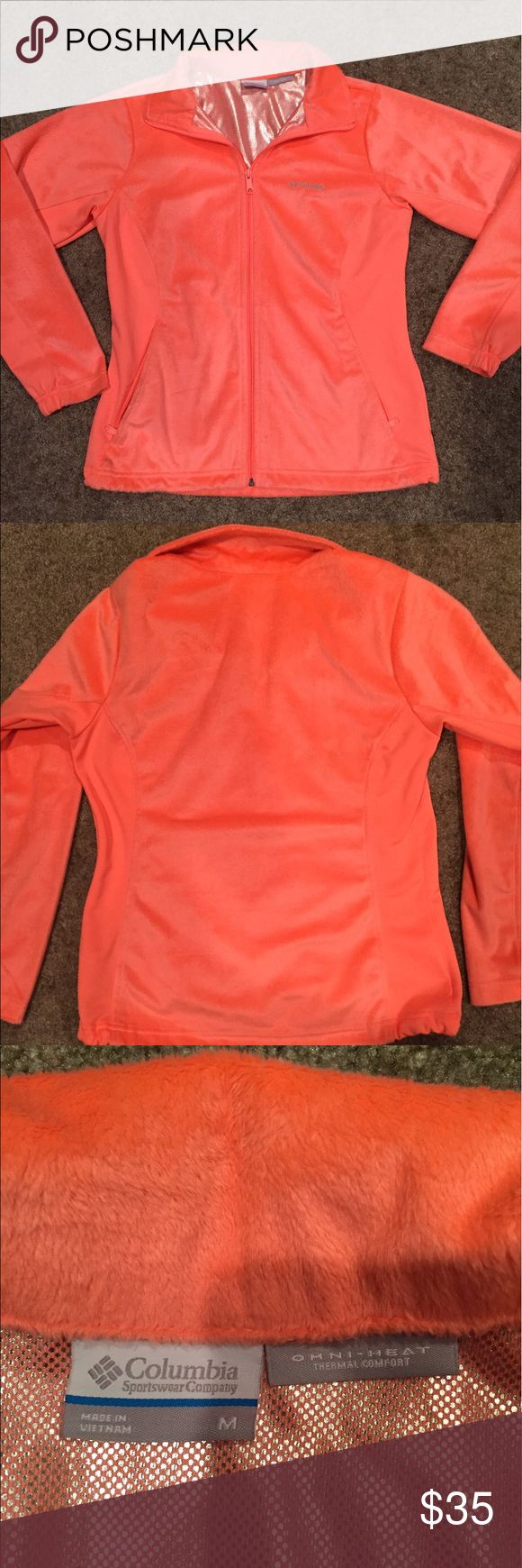 New Columbia Omni-Heat jacket Worn once only, not a good color on me. Thermal comfort & very soft. Definitely keeps you cozy. Columbia Jackets & Coats
