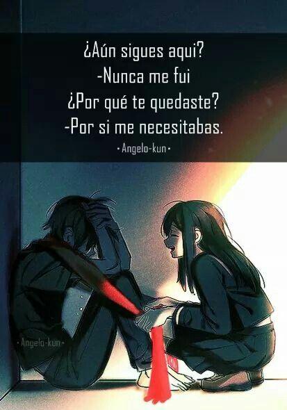 -Nunca me fui