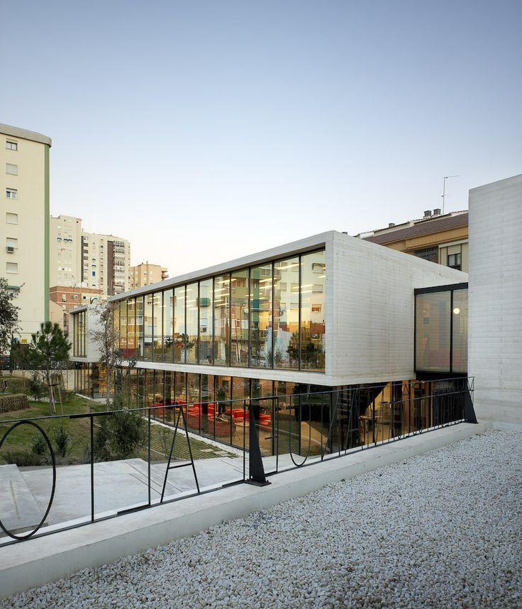 "Biblioteca Municipal ""Manuel Altolaguirre"" / CDG Arquitectos"