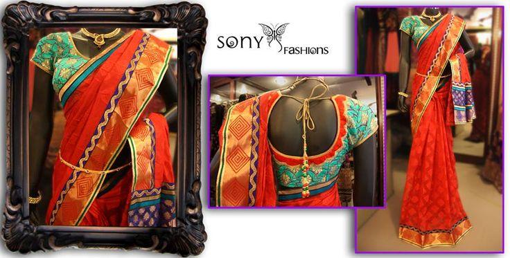 sony+reddy-saree