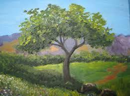 Resultado de imagen de pintura paisaje acrilico