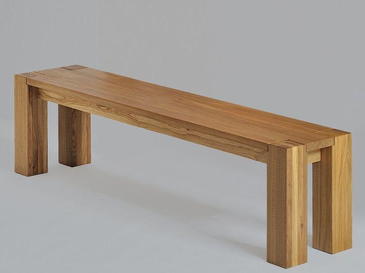 Banco de madera Colección Taurus by Vitamin design