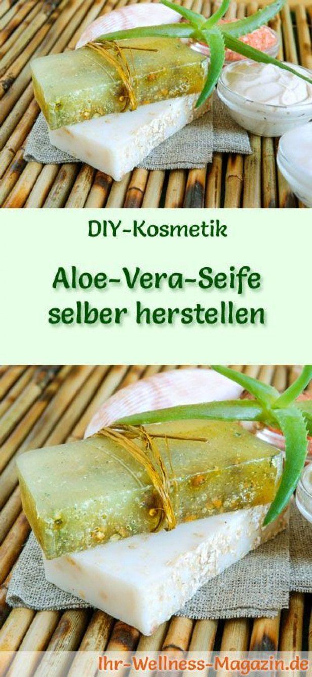 Making Soap - Soap Recipe: Making Aloe Vera Soap Yourself - For E ...  -  Hautpflege-Rezepte