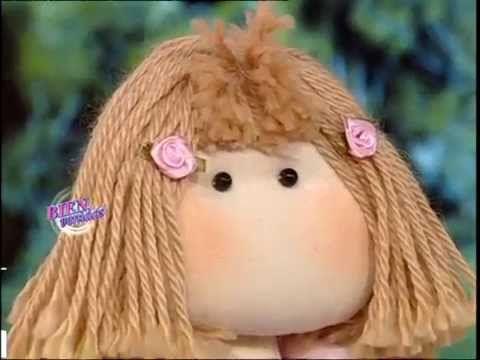 Silvia Nieruczkow - Bienvenidas TV - Realiza una Muñeca de Tela.