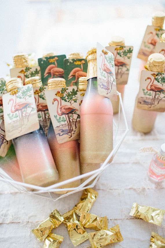 Flamingo Wedding Favors Are Fun To Have Because Flamingos Represent Happiness Spread The Happy And