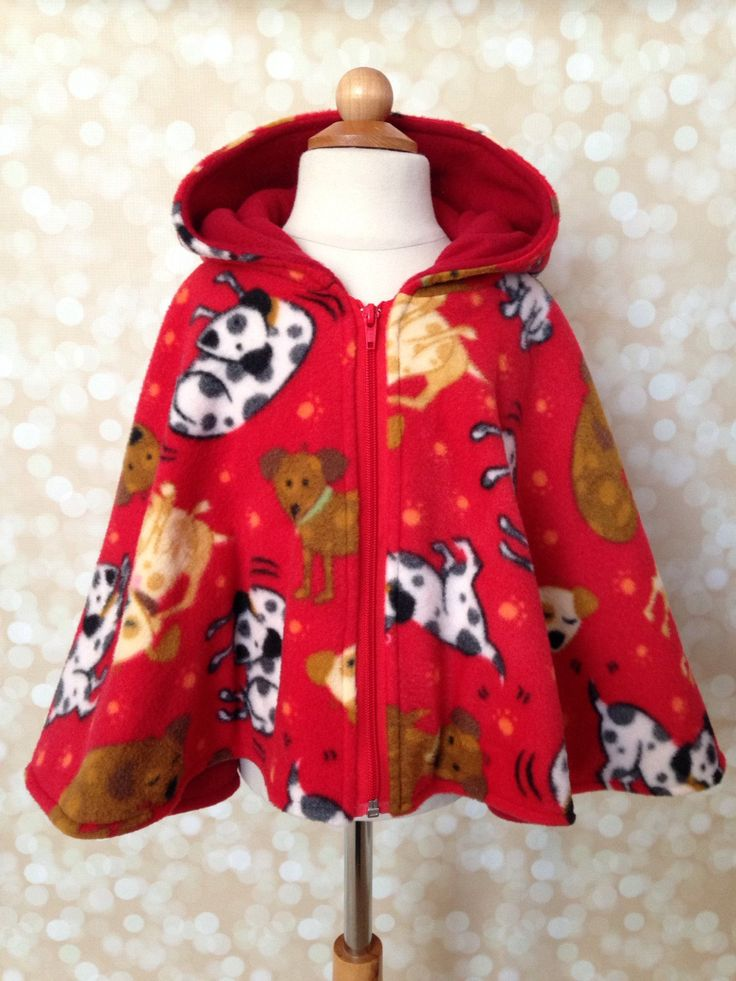 Red Winter Riding Hood - Boy Toddler Car Seat Cover - Childrens Winter Coat - Toddler Jacket - Car Seat Poncho - Car Seat Safety - Fleece