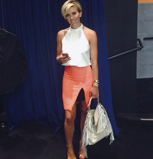 Charissa Thompson hair                                                                                                                                                                                 More