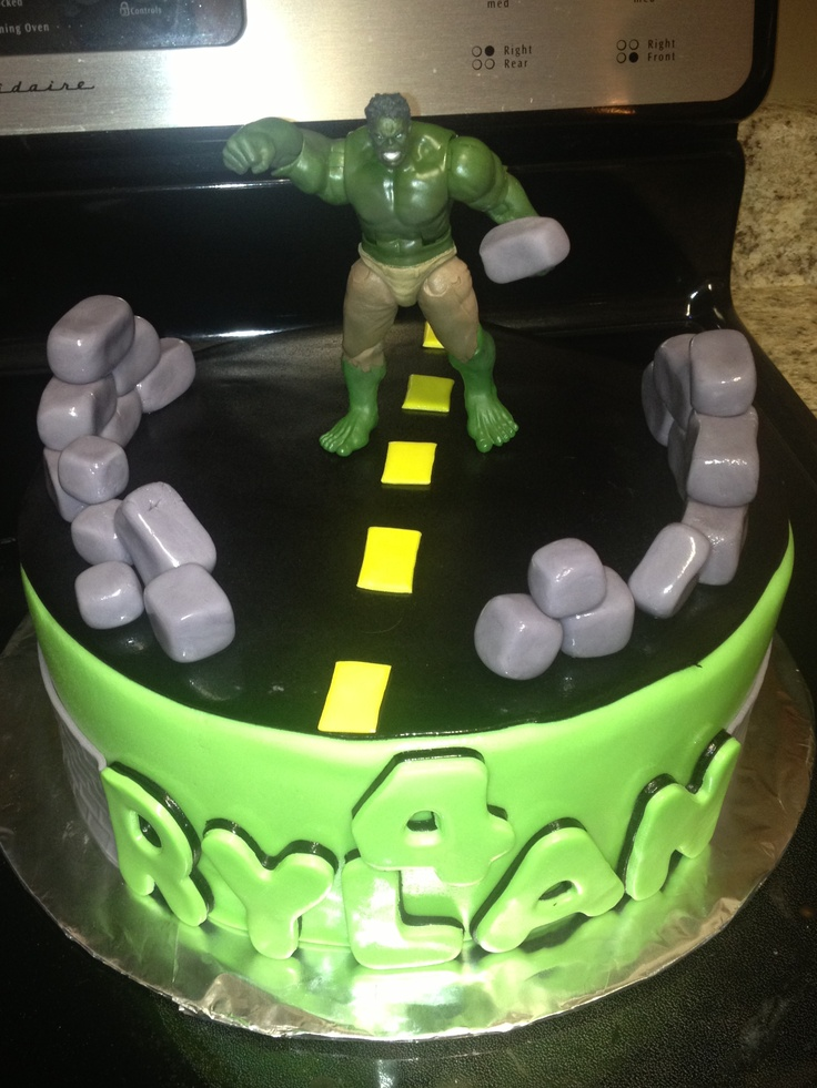 ... Birthday, 6Th Birthday, Hulk Birthday Cake, Birthday Ideas, Birthday