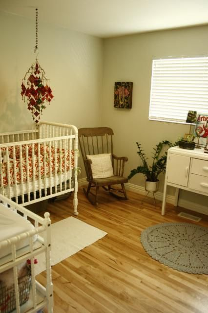 Our baby room.  We can get a large bed if needed.