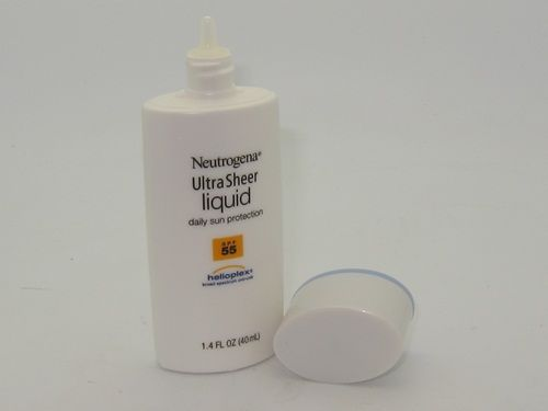 Neutrogena Ulta Sheer Liquid Daily Sun Protection SPF 55 Review