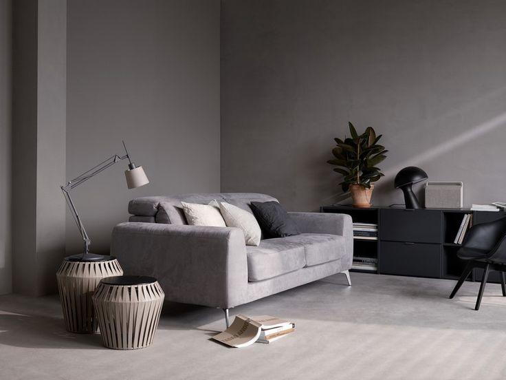 Madison - grey designer sofa bed
