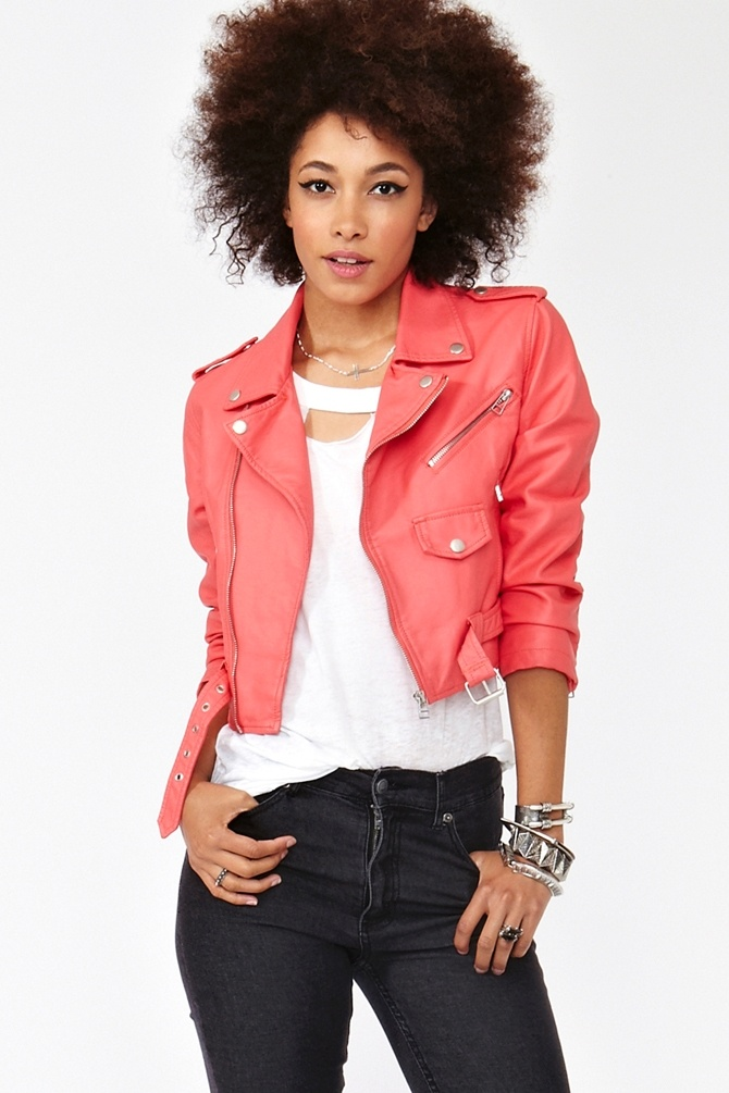 Cropped Moto Jacket   http://www.nastygal.com/clothes/cropped%2Dmoto%2Djacket#