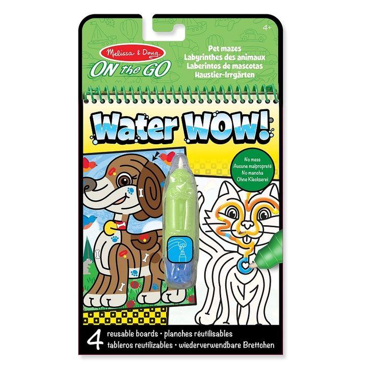 Cena: 28.00zł. Eksresowa wysyłka od ręki. KOLOROWANA WODNA WATER WOW! - LABIRYNTY angielskiej firmy... więcej na www.Tublu.pl #tublu #tublu_pl #zabawka #zabawki #dla #dzieci #toy #for #kid #melissa #and #doug #on #the #go #water #wow #kolorowanka #wodna #water #coloring #book